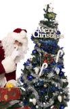 Presentes 7 de Santa Fotografia de Stock
