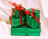 Presentes Imágenes de archivo libres de regalías