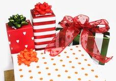 Presentes & presentes Imagem de Stock