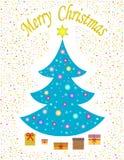 Presentes bajo el árbol Fotografía de archivo libre de regalías