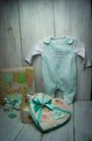Presentes bonitos para o bebê Fotografia de Stock