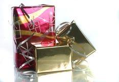 Presentes brilhantes Imagem de Stock Royalty Free