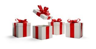 Presentes 3d-illustration Fotografia de Stock