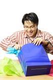 Presentes da compra Imagens de Stock