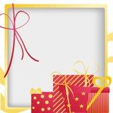 Presentes de aniversário Imagens de Stock Royalty Free