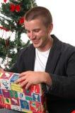 Presentes de apertura Imagen de archivo libre de regalías