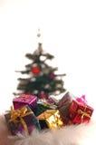 Presentes de Christmass foto de stock