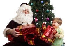 Presentes de dezembro Imagens de Stock Royalty Free