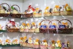 Presentes de Easter justos Fotografia de Stock