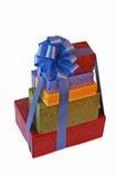 Presentes de feriado imagens de stock