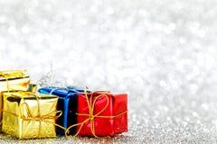 Presentes de feriado imagem de stock