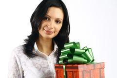 Presentes de feriado Fotografia de Stock Royalty Free