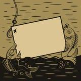 Presentes de los pescados ilustración del vector