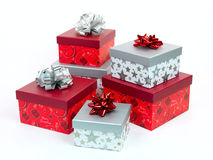 Presentes de Natal imagem de stock royalty free