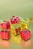 Presentes de Natal Imagens de Stock
