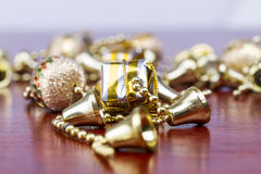 Presentes de Natal Fotos de Stock