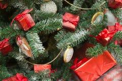 Presentes de Natal Foto de Stock