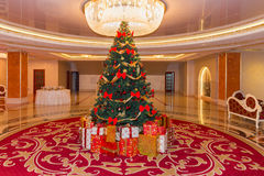 Presentes de Natal Foto de Stock Royalty Free