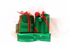 Presentes de Natal Imagem de Stock