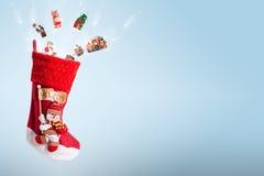 Presentes de Natal mágicos Imagem de Stock Royalty Free