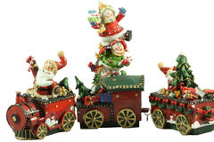 Presentes de Papai Noel Fotografia de Stock Royalty Free