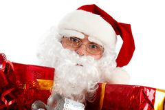 Presentes de Santa fotos de stock royalty free