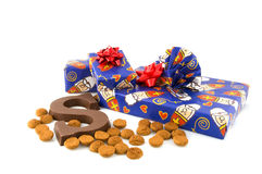 Presentes de Sinterklaas em Holland Imagens de Stock