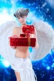 Presentes do anjo foto de stock