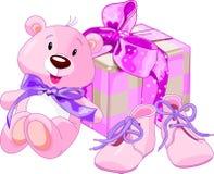 Presentes do bebé Fotografia de Stock Royalty Free