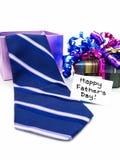 Presentes do dia de pais Imagens de Stock Royalty Free