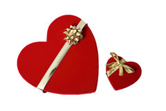 Presentes do dia dos Valentim fotos de stock