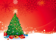 Presentes do Natal Imagem de Stock