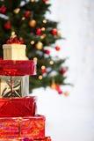 Presentes do Natal Imagem de Stock Royalty Free