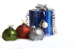Presentes do Natal Foto de Stock