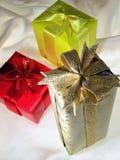 Presentes do Natal Fotografia de Stock Royalty Free