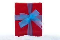 Presentes do Natal no fundo branco Foto de Stock