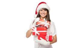Presentes do Natal para você Foto de Stock Royalty Free