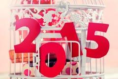 Presentes do Natal por 2015 anos Fotos de Stock Royalty Free