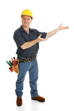 Presentes do trabalhador da construção Imagem de Stock Royalty Free