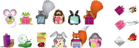 Presentes dos animais selvagens Imagem de Stock Royalty Free