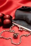 Presentes dos Valentim com chocolates fotografia de stock royalty free