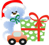 Presentes e brinquedos do Natal Imagem de Stock Royalty Free