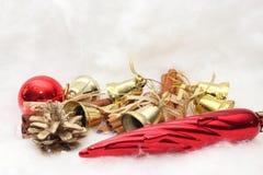 Presentes e símbolos do Natal Imagens de Stock Royalty Free