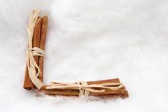 Presentes e símbolos do Natal Fotos de Stock Royalty Free