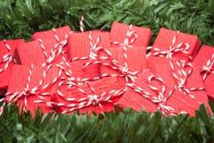 Presentes llenos para la Navidad Fotos de archivo libres de regalías