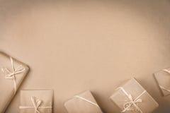 Presentes na tabela Imagem de Stock Royalty Free