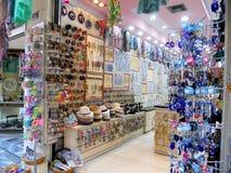 Presentes originais e lembranças a comprar em Grécia imagens de stock