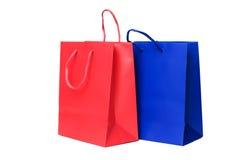 Presentes ou sacos de compra Foto de Stock Royalty Free