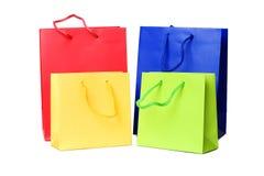 Presentes ou sacos de compra Imagens de Stock Royalty Free
