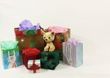 Presentes para la Navidad Imagen de archivo libre de regalías